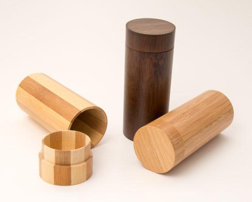 Bambusbüchse